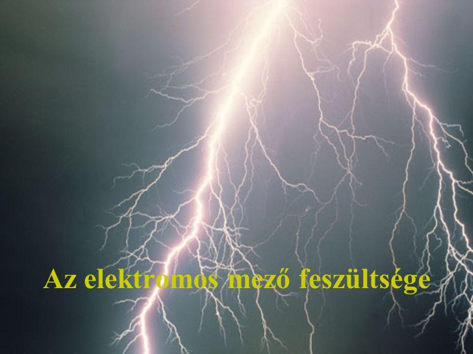 Az elektromos mező feszültsége