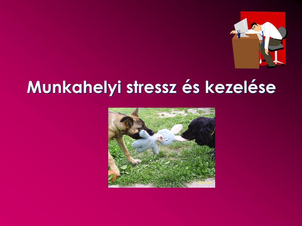 Munkahelyi stressz és kezelése
