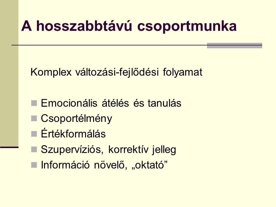 Orvosi készségi-magatartási elemek Kapcsolatteremtés Beszédkészség, kommunikáció Empátia Egzakt fantáziálás képessége Szociális szerepvállalás Emocionális intelligencia