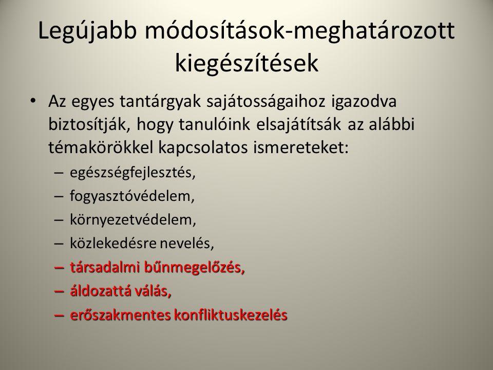 Intézményi szabályozók Szervezeti és Működési Szabályzat: • az intézményi működést, a belső viszonyokat és a külső kapcsolatokat írja le • igazgató készíti, nevelőtestület fogadja el, nyilvános, elérhető Szabályozza: 1.) oktatási intézmény vezetői és feladatkörük munkáját 2.) az iskola belső közösségei és működésük elveit 3.) az intézmény képzési rendjét 4.) a tanórai és tanórán kívüli foglalkozásokat