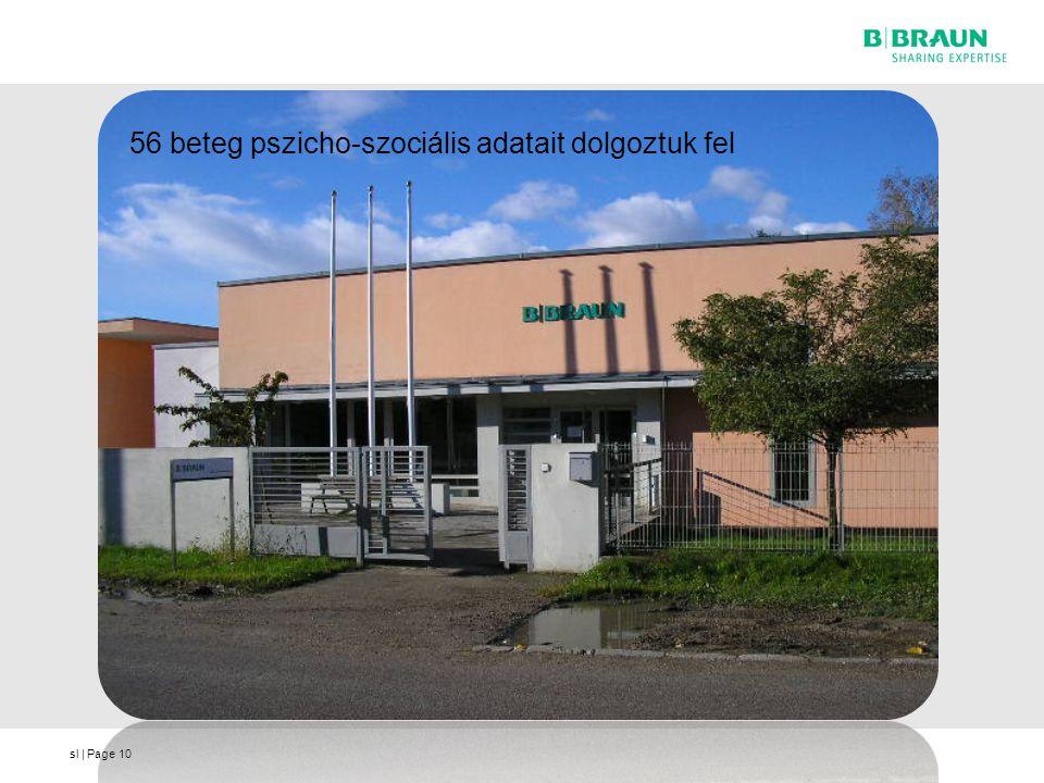 sl | Page10 56 beteg pszicho-szociális adatait dolgoztuk fel