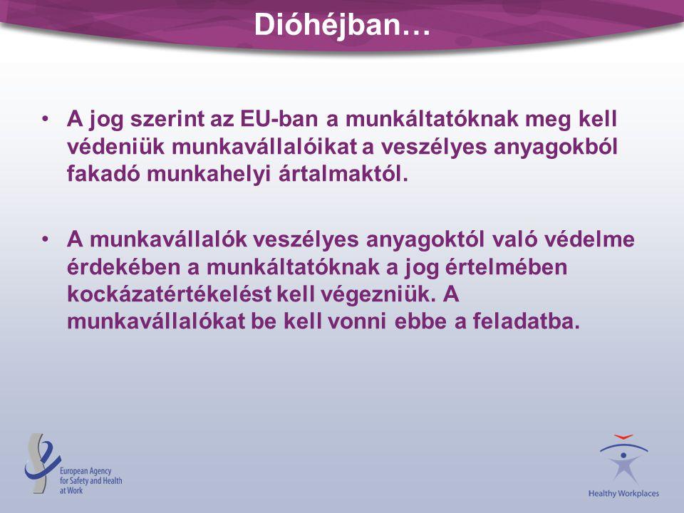 •A jog szerint az EU-ban a munkáltatóknak meg kell védeniük munkavállalóikat a veszélyes anyagokból fakadó munkahelyi ártalmaktól.