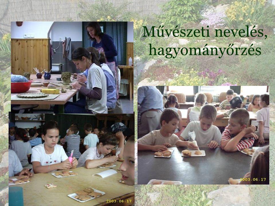 • Ezekre a hagyományokra és feltételekre épülve pedagógiai programunk három kiemelt nevelési területet határoz meg.