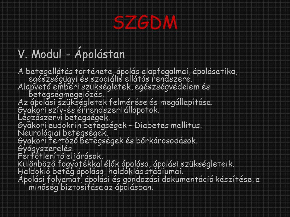 SZGDM V.