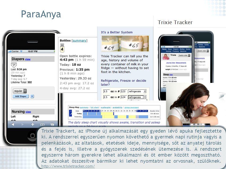 Trixie Trackert, az iPhone új alkalmazását egy gyeden lévő apuka fejlesztette ki. A rendszerrel egyszerűen nyomon követhető a gyermek napi rutinja vag
