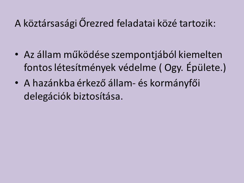 Személy- és objektumvédelmi Az Rtv.