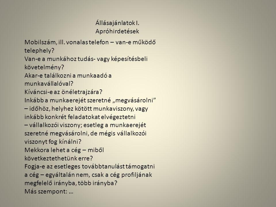 2.JelentkezésMotivációs levél Minta Zoltán Személyügyi főosztályvezető részére Ad Hoc Kft.