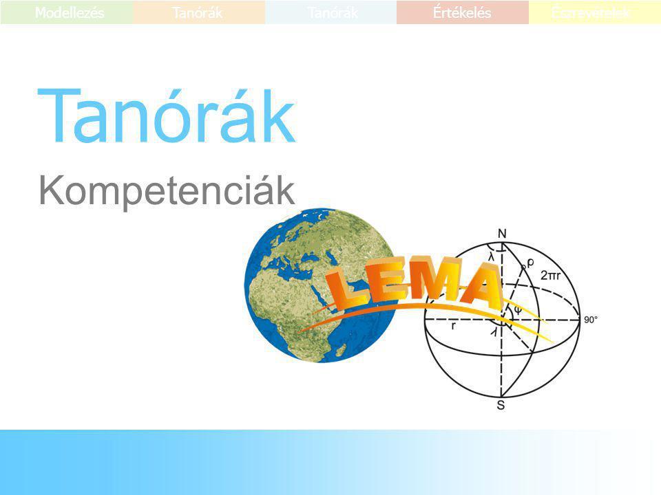 Tanórák Kompetenciák 3 ICTMódszerekTartalom 1.rész 2.