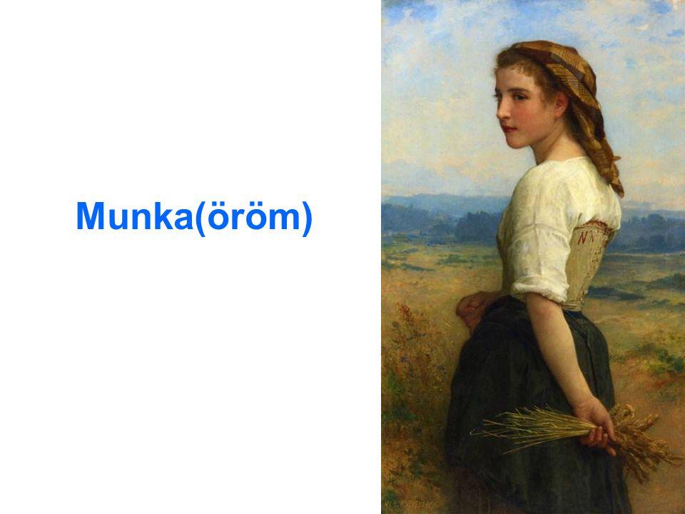 Munka(öröm)