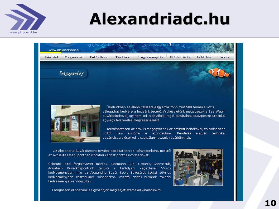 10 Alexandriadc.hu