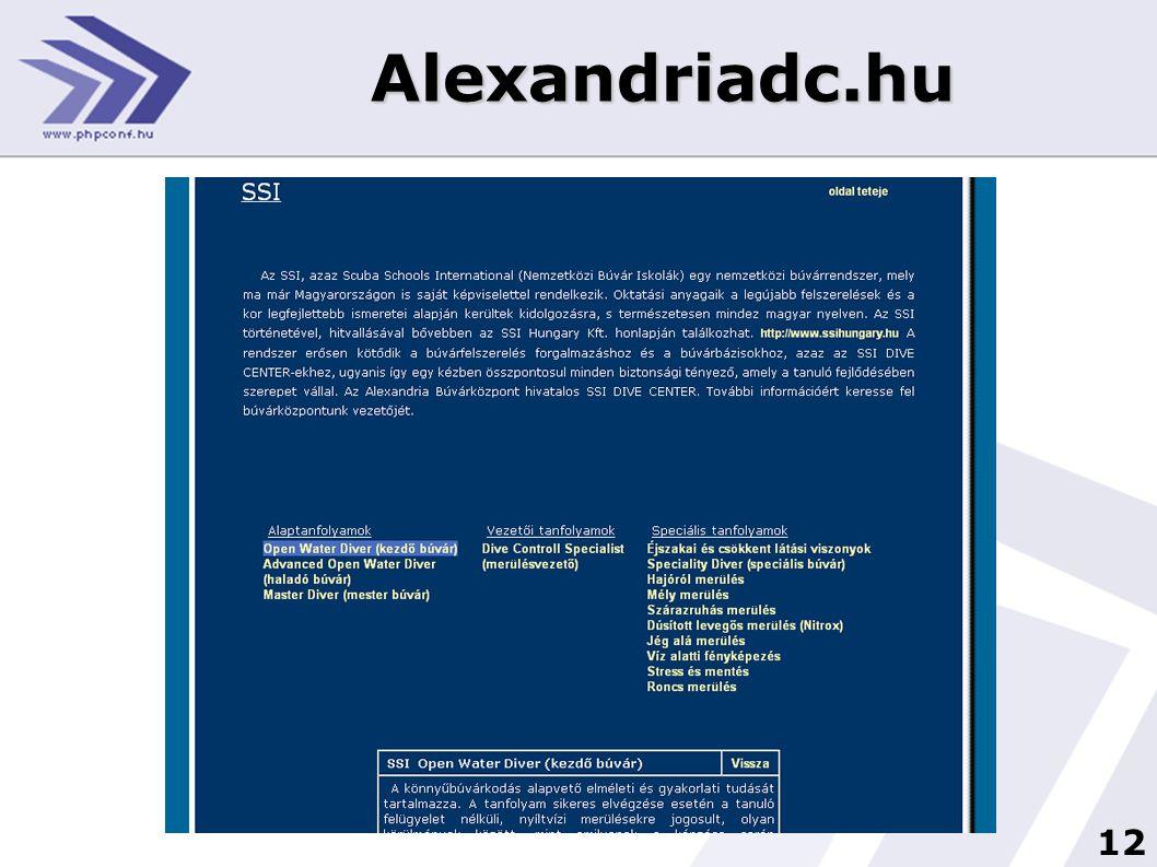 12 Alexandriadc.hu