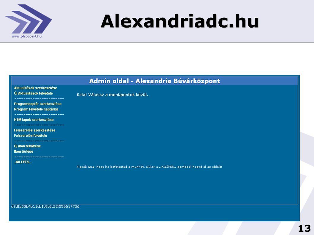 13 Alexandriadc.hu