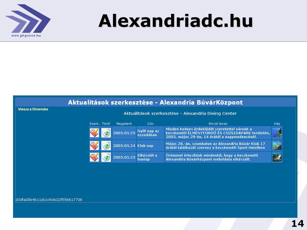 14 Alexandriadc.hu