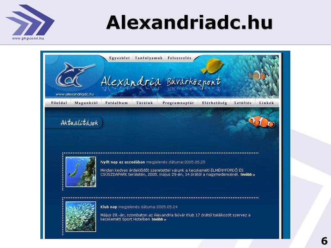 17 Tervezés Előzetes megbeszélés • oldal tartalmának elrendezése • Főbb funkciók, színek • Menüpontok • Dinamikus tartalom • Domain regisztráció elindítása • Fényképek előkészítése