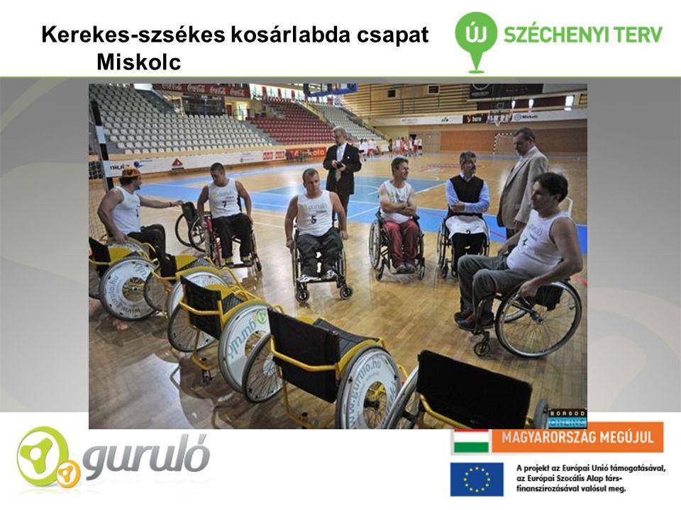 Kerekes-szsékes kosárlabda csapat Miskolc