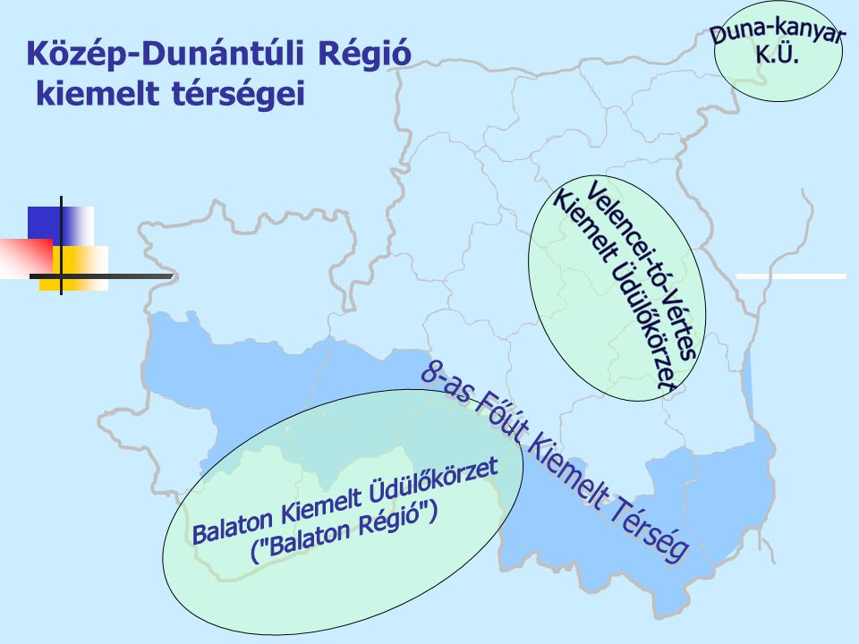 Közép-Dunántúli Régió kiemelt térségei