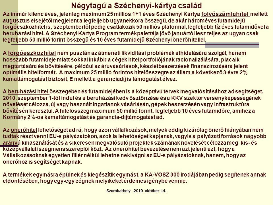 Szombathely 2010 október 14. Sepsi Zsigmond sepsi@enternet.hu