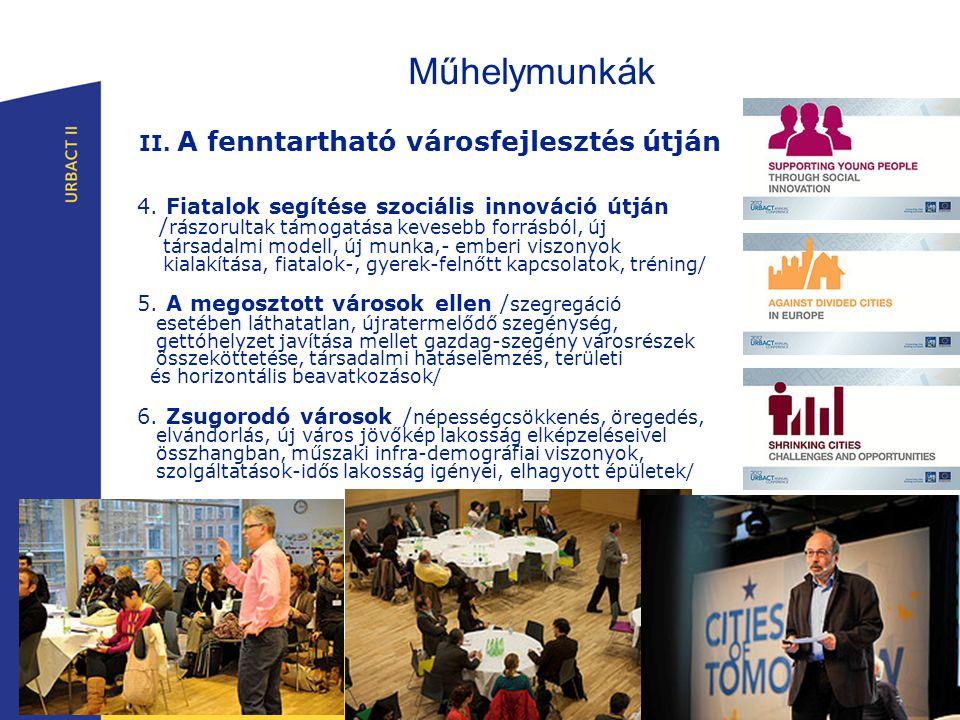 Műhelymunkák II. A fenntartható városfejlesztés útján 4.