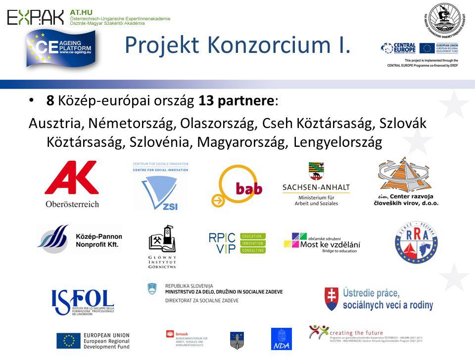 www.ce-ageing.eu Regisztráljon a projekt hírleveleiért (3 havonta megjelenő kiadványok), hogy mindig naprakész lehessen a projekt fejleményeivel/ eredményeivel kapcsolatban!
