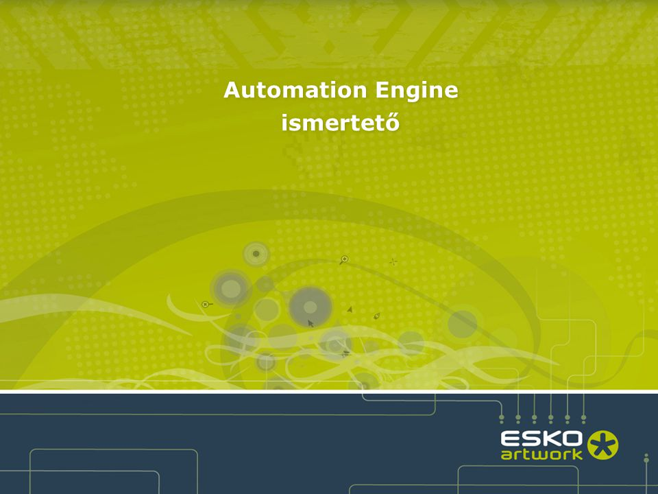 Automation Engine 10.1 Reporting and 3D Module 4