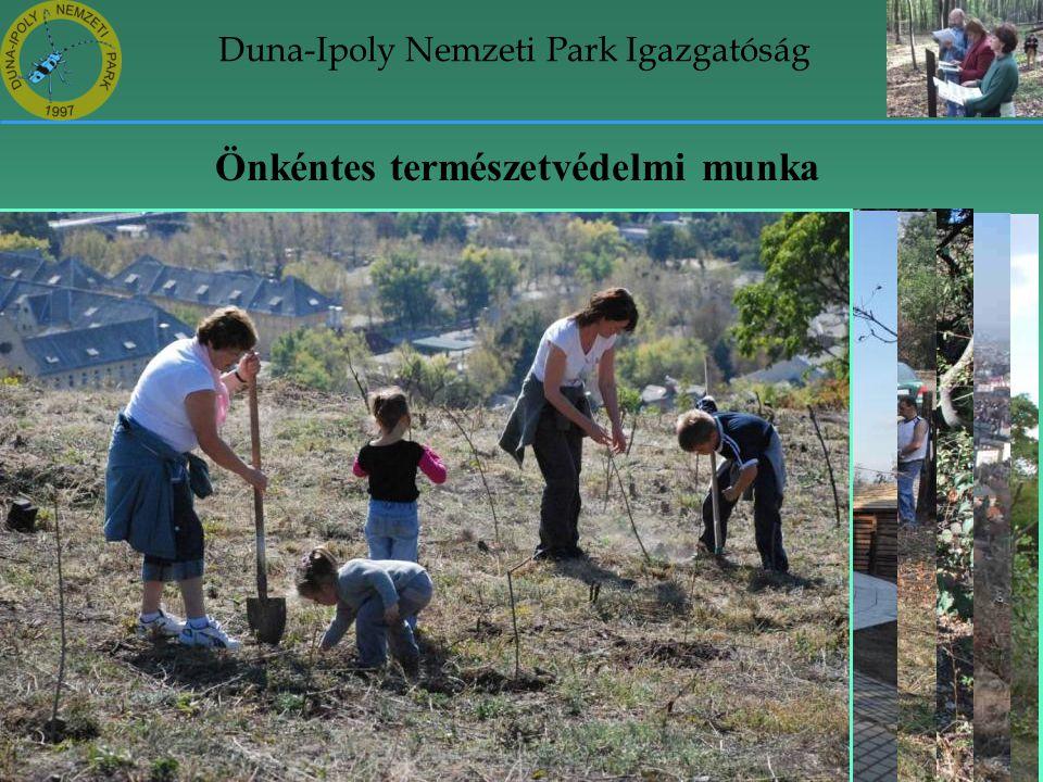 Duna-Ipoly Nemzeti Park Igazgatóság Önkéntes természetvédelmi munka