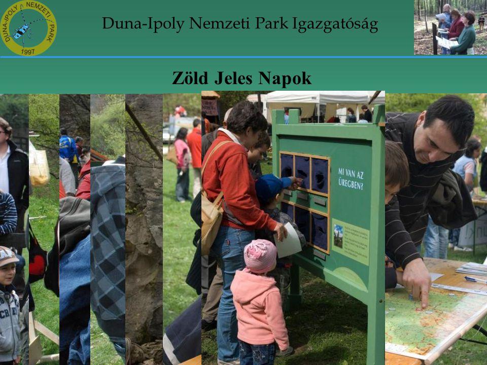 Duna-Ipoly Nemzeti Park Igazgatóság Zöld Jeles Napok