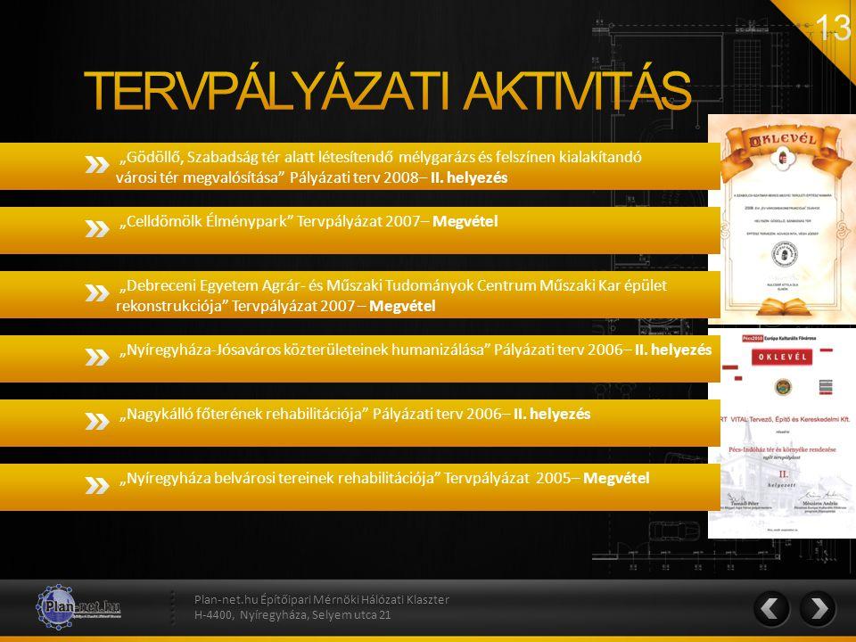 """""""Gödöllő, Szabadság tér alatt létesítendő mélygarázs és felszínen kialakítandó városi tér megvalósítása"""" Pályázati terv 2008– II. helyezés Plan-net.hu"""