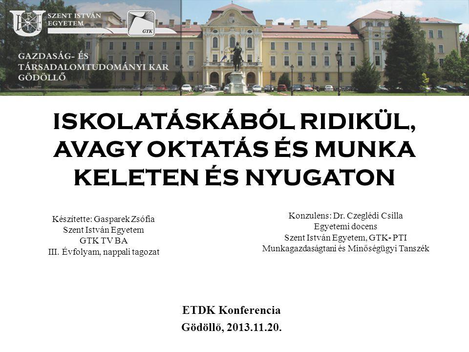 A török és magyar felsőoktatás fejlődése megfelel alapvetően az elvártaknak? Saját készítésű ábra