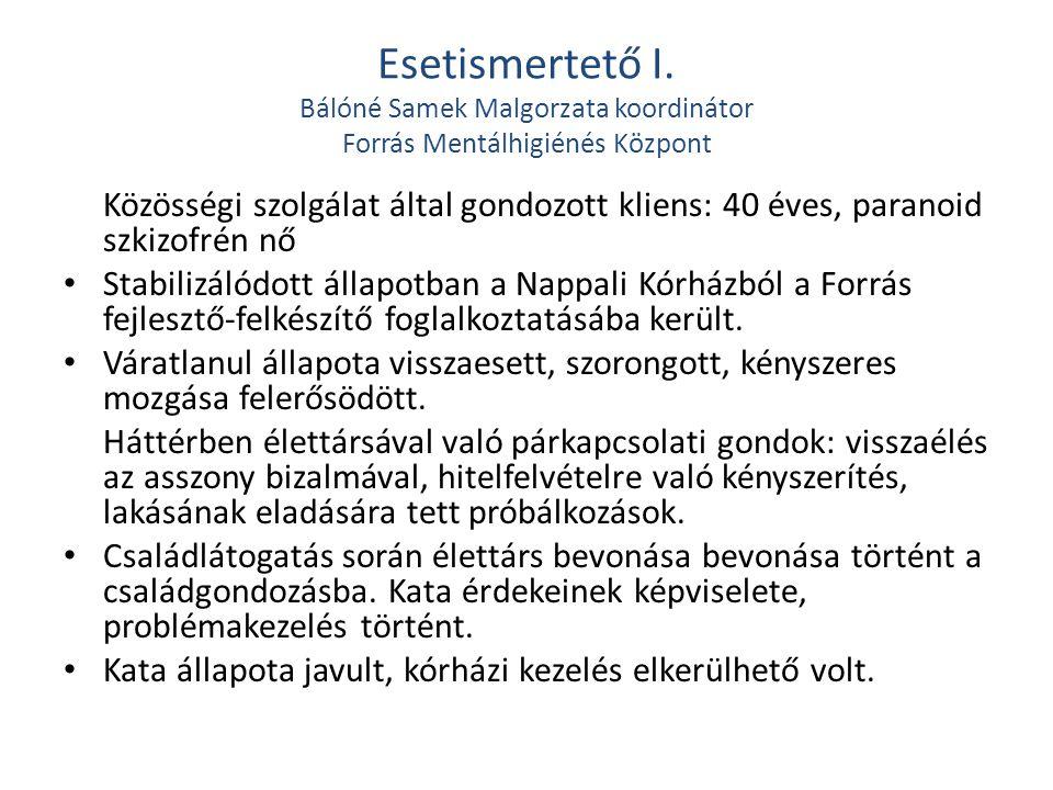 Esetismertető II.