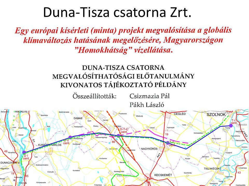 Duna-Tisza csatorna Zrt.