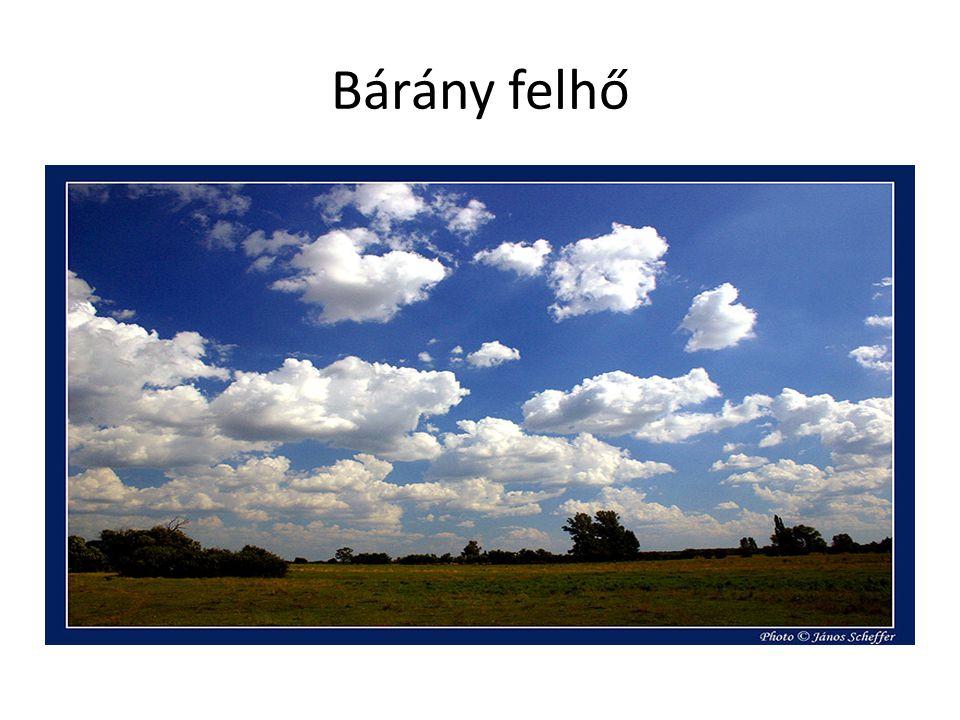 Bárány felhő