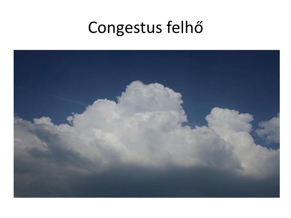 Congestus felhő