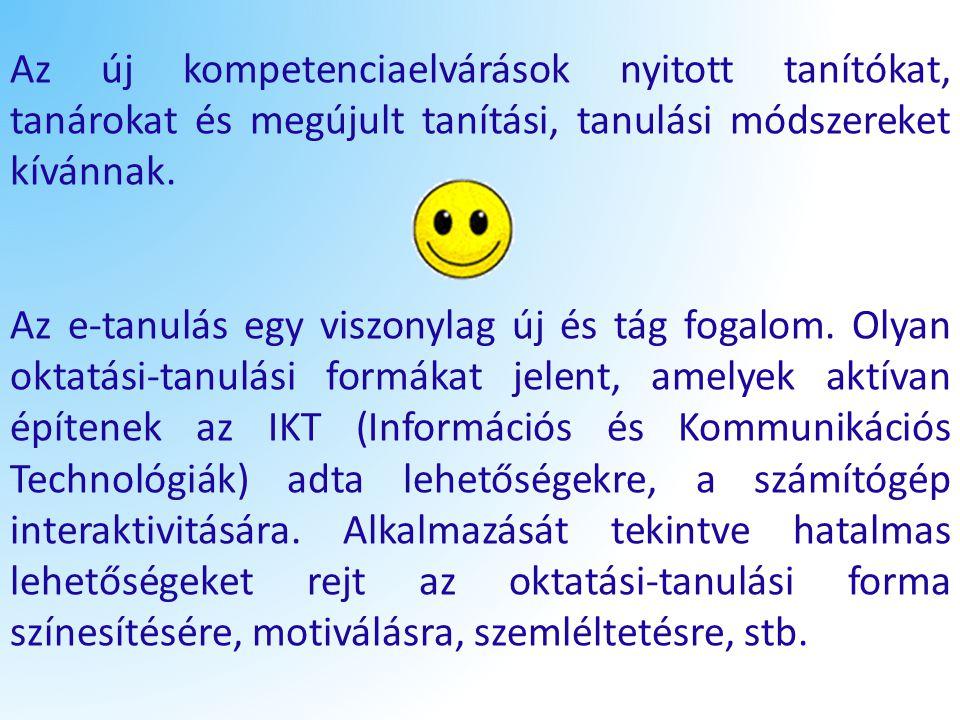 Az e-tanulás szó jobb híján az e-learning fogalom magyar megfelelőjeként jelenik meg.