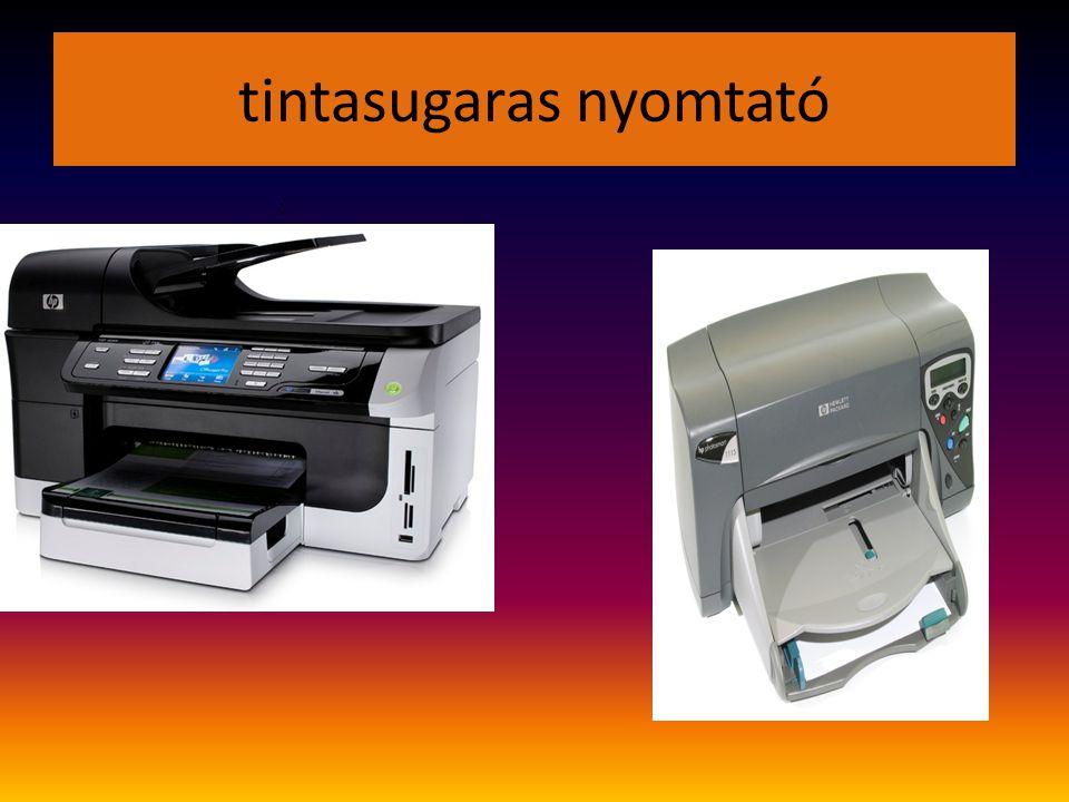 tintasugaras nyomtató :