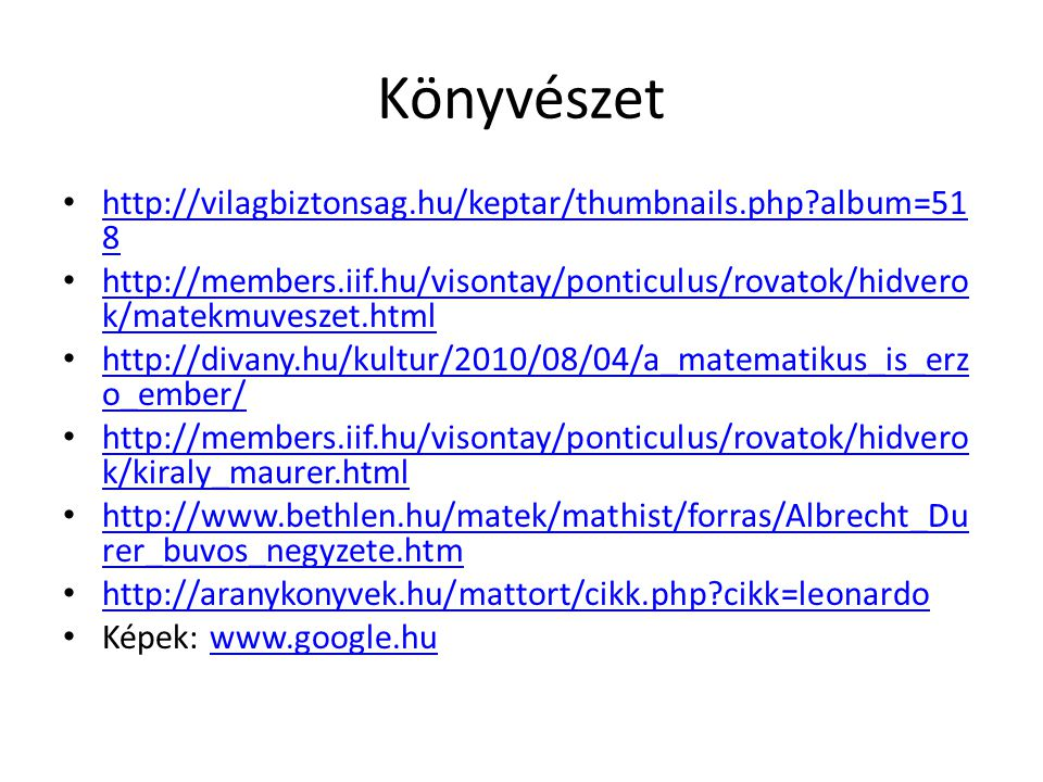 Könyvészet http://vilagbiztonsag.hu/keptar/thumbnails.php?album=51 8 http://vilagbiztonsag.hu/keptar/thumbnails.php?album=51 8 http://members.iif.hu/v