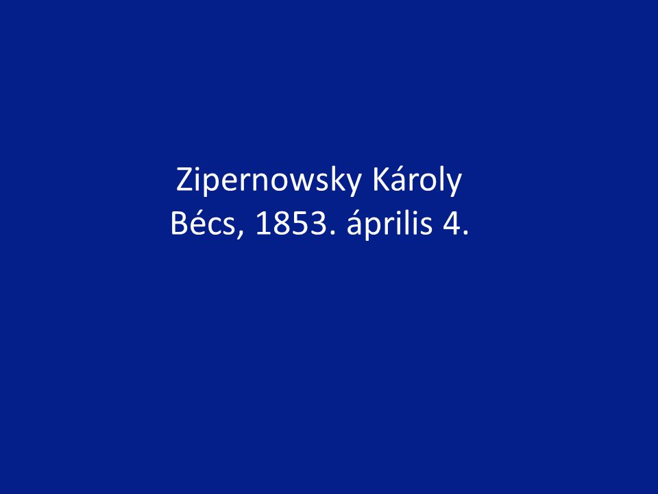 1931-ben Faraday emlékülést tartottak, amelynek elnöki tisztét Zipernowsky töltötte be, és szerepet vállalt az erről rendezett rádióadásban is.