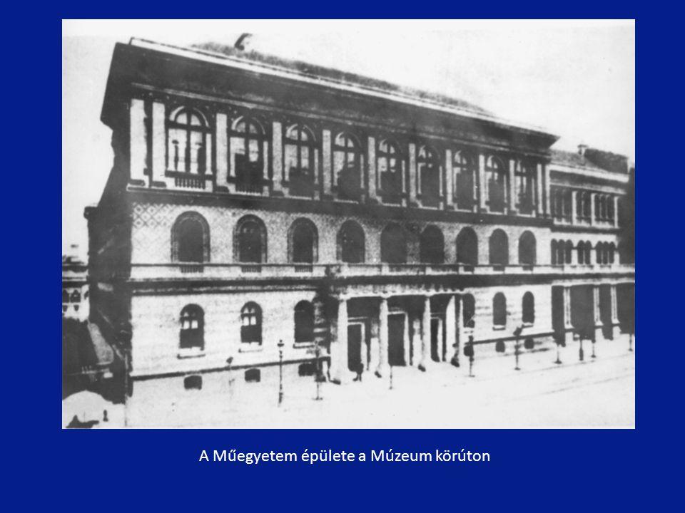 A Műegyetem épülete a Múzeum körúton