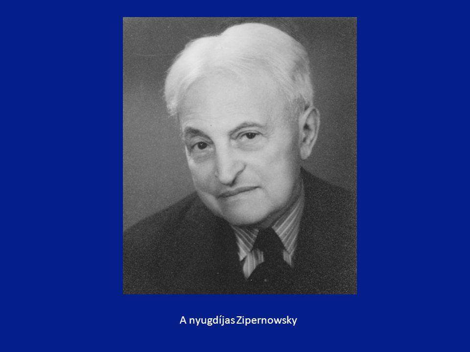A nyugdíjas Zipernowsky