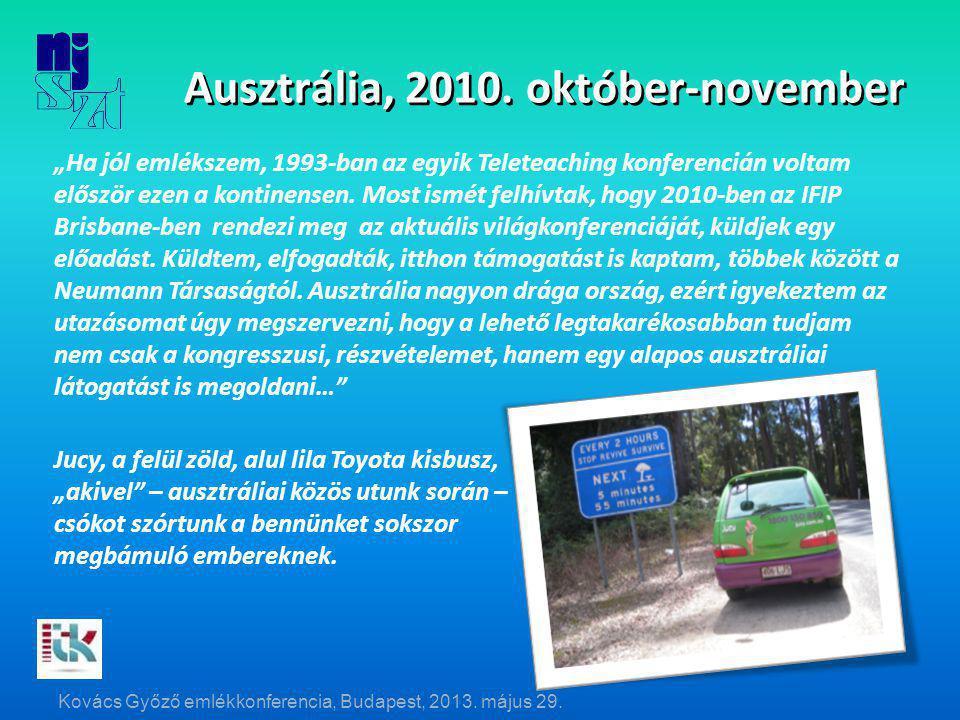 Ausztrália, 2010.