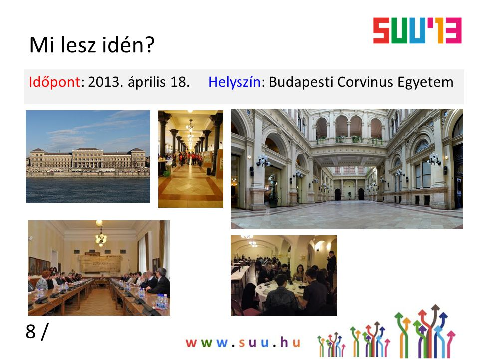 Idei program Időpont: 2013.április 18.