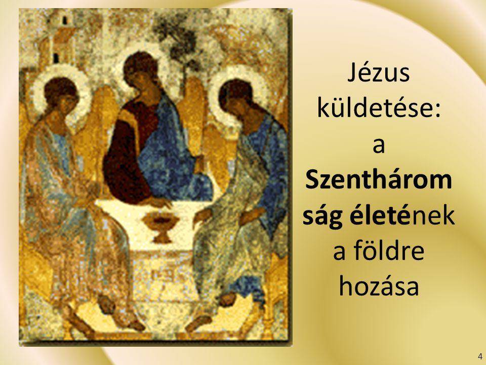 Jézus küldetése: a Szenthárom ság életének a földre hozása 4