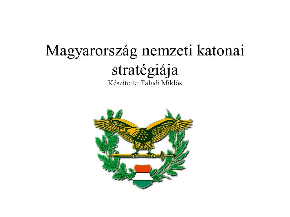 Magyarország nemzeti katonai stratégiája Készítette: Faludi Miklós