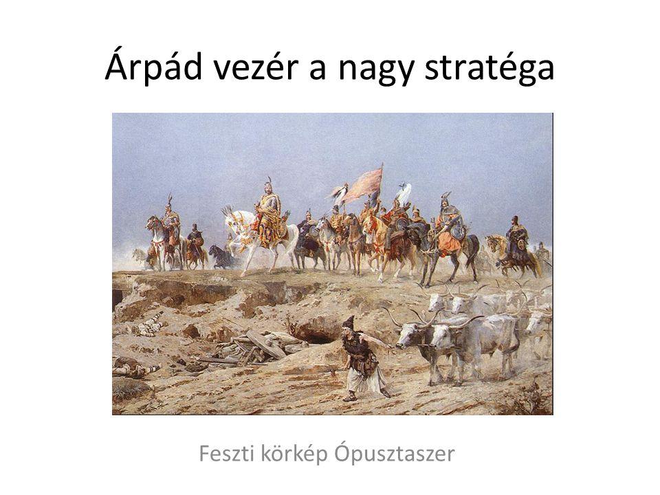 Árpád vezér a nagy stratéga Feszti körkép Ópusztaszer