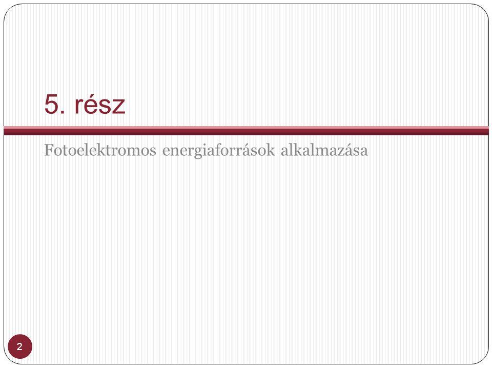 Ohmos terhelés 33 Az ohmos terhelés I-U jelleggörbéje a következő egyszerű összefüggéssel írható le: U=IRR=13 