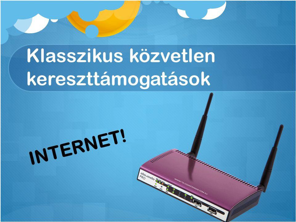 Klasszikus közvetlen kereszttámogatások INTERNET!