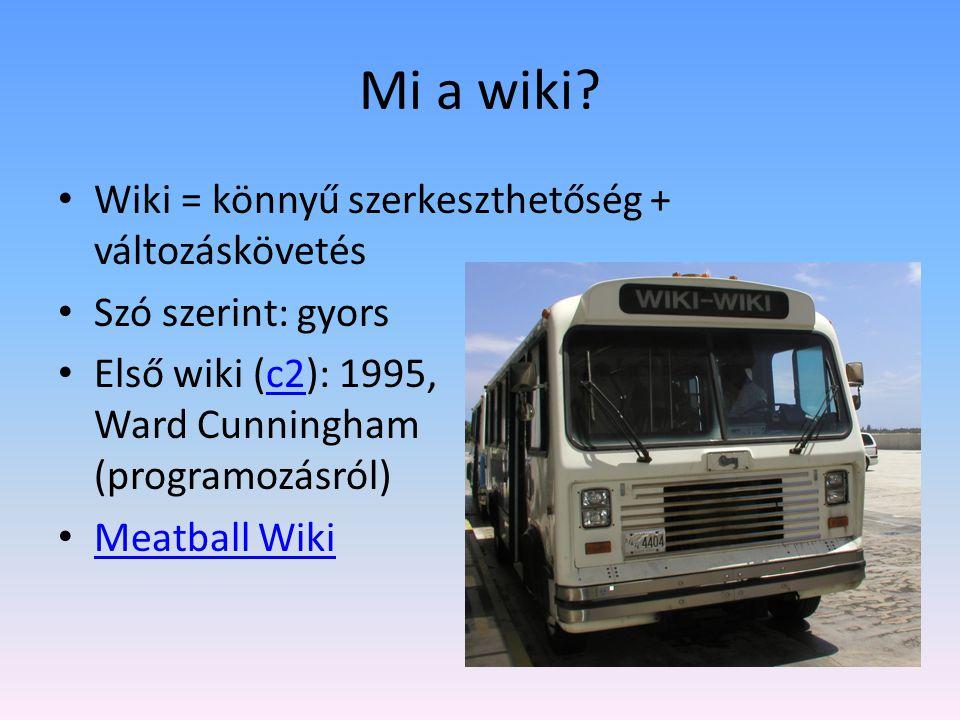 Mi a Wikipédia.