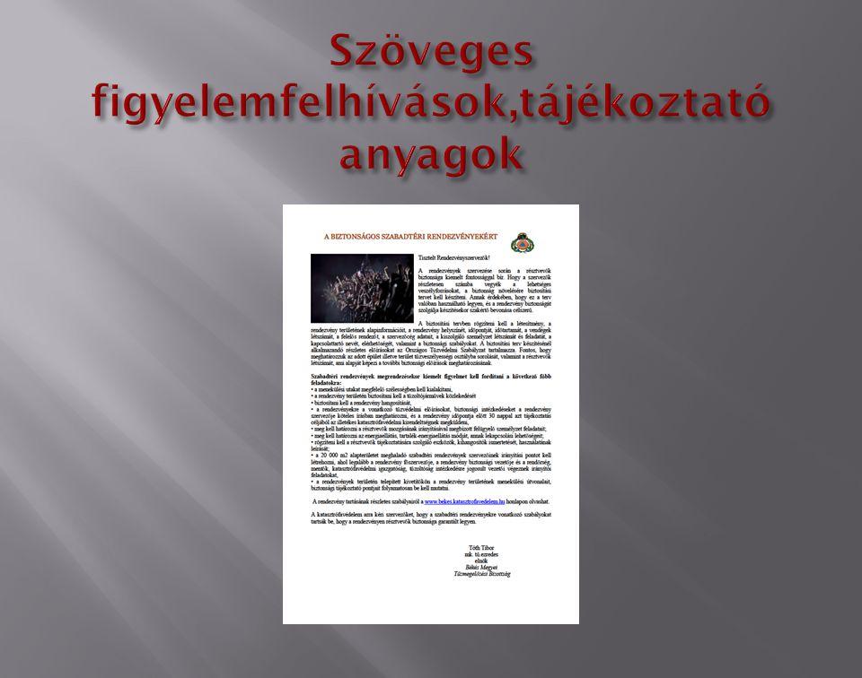 Az érzékelőket az érintett intézmények vezetőinek Erdős Norbert kormánymegbízott és Tóth Tibor mk.