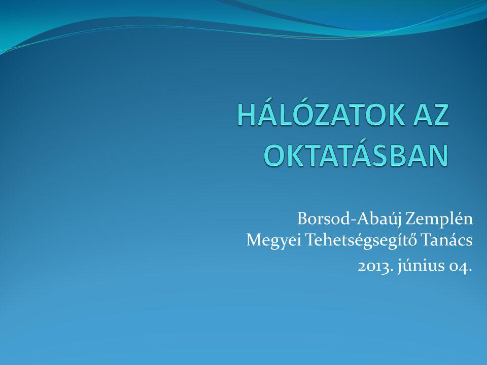 Borsod-Abaúj Zemplén Megyei Tehetségsegítő Tanács 2013. június 04.
