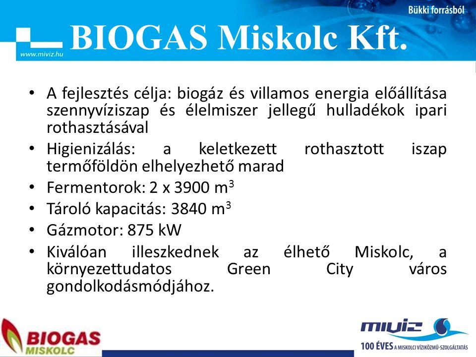 BIOGAS Miskolc Kft.