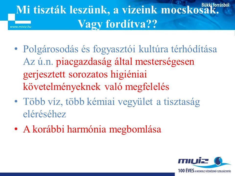 Bükki forrásból MIVÍZ Kft.